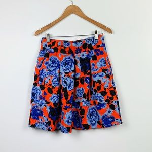 ANTHROPOLOGIE HD IN PARIS floral skirt size 2